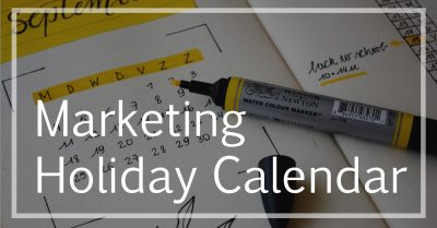 marketing holiday calendar